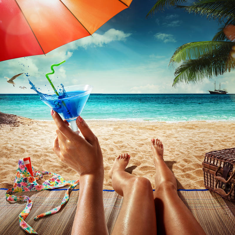 Vacation. Summer royalty free stock photography