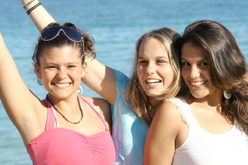 vacation teens , spring break stock images