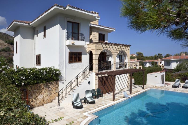 Vacation Villa - Turkish Cyprus royalty free stock photos