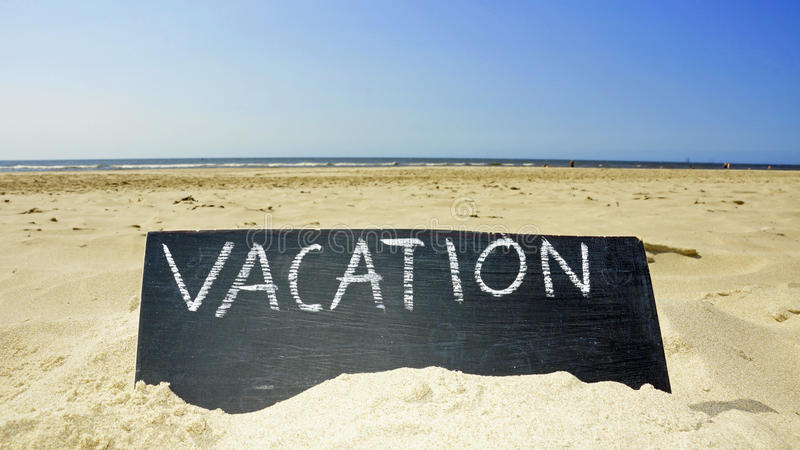 I am on vacation stock image. Image of reminder, vacation ...