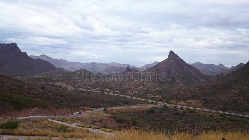 Vacations in San Carlos, Sonora. stock images