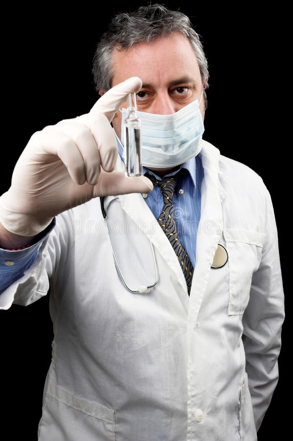 vaccin royaltyfri fotografi