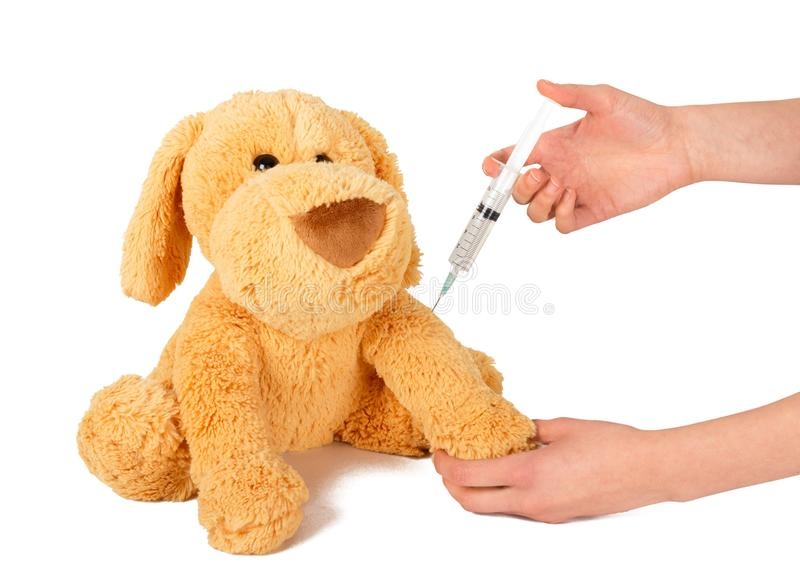 vaccination royaltyfria foton