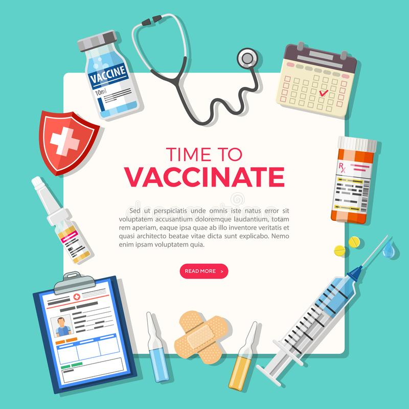 Free Vaccination Concept Banner Stock Images - 162279124