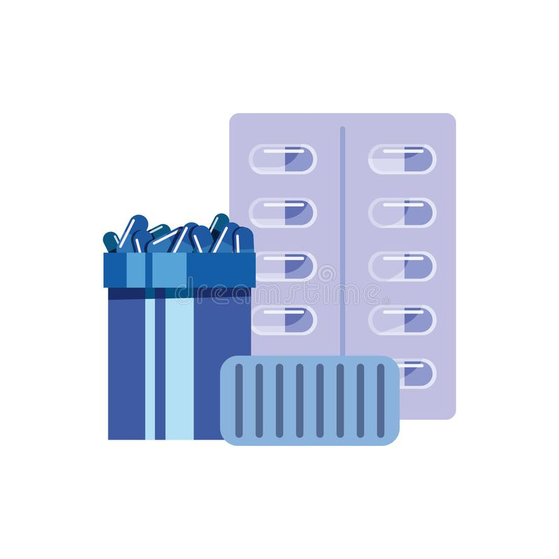 Vaccination medical concept vector illustration