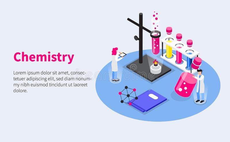 Chemistry Vaccines Development Composition vector illustration