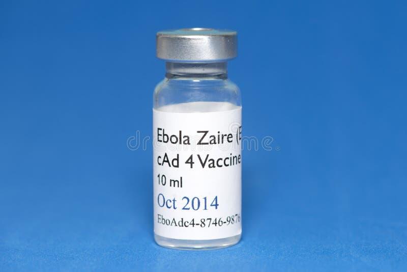 Vaccino di ebola fotografie stock libere da diritti