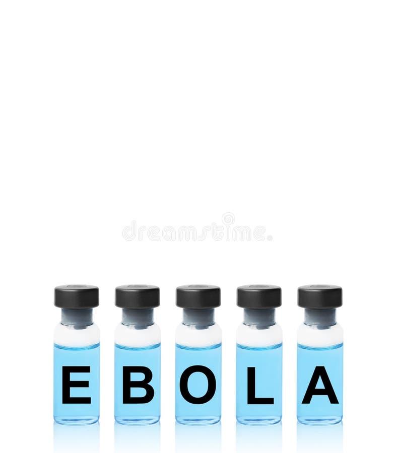 Vaccino di ebola fotografie stock