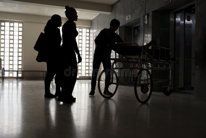 Vachira Hospital, Phuket, Tailandia-febbraio 2,2017: Personale medico immagini stock