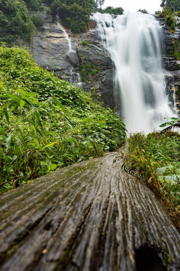 Vachiratharn-Wasserfall im chiangmai Thailand stockfotografie