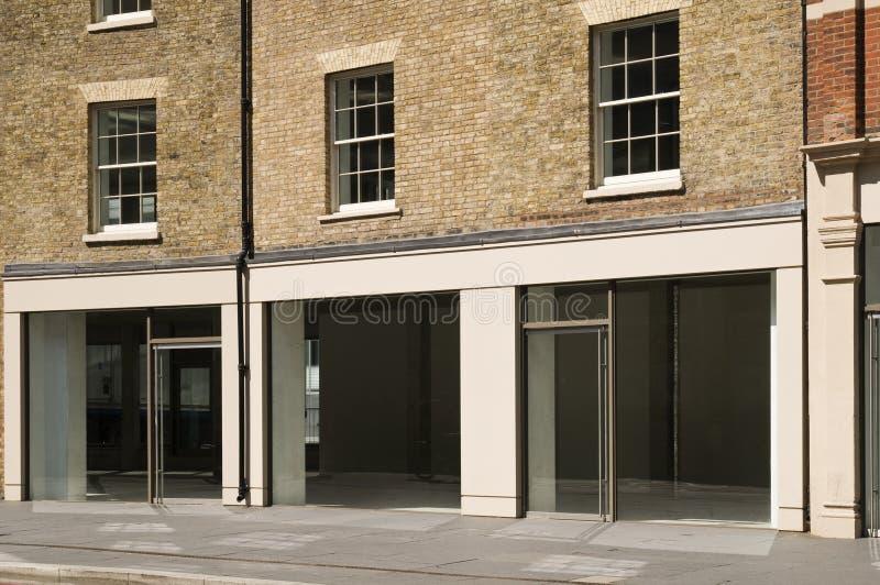 Vacie el departamento en Londres imagenes de archivo