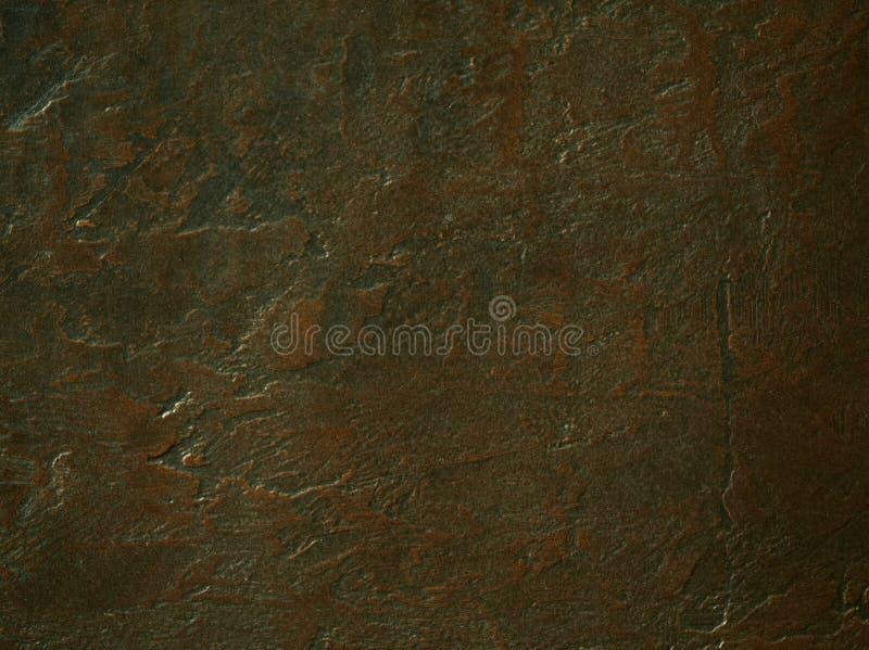 Vacie el fondo concreto texturizado oxidado marrón de la superficie de la piedra o de metal con el espacio de la copia fotos de archivo libres de regalías