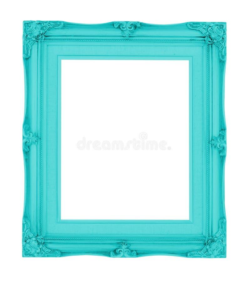 Vacie el marco contemporáneo del vintage con color vibrante aislado encendido foto de archivo libre de regalías