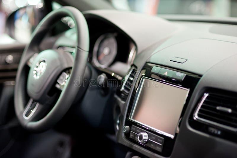 Navegación del coche imagen de archivo libre de regalías