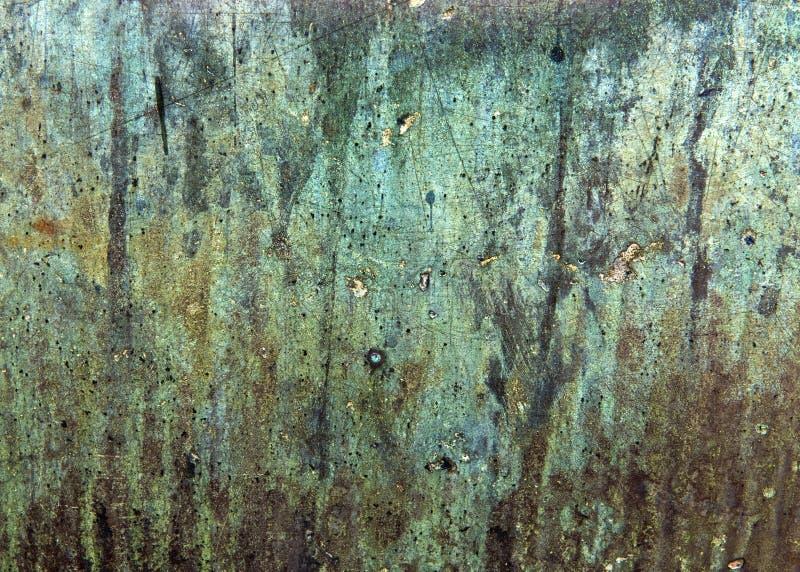 Vacie a Rusty Texture Wallpaper envejecido fotos de archivo libres de regalías