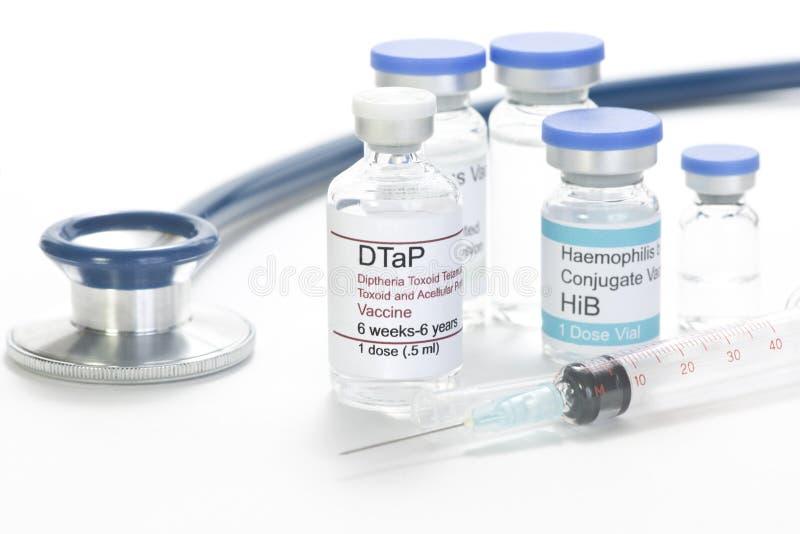 Vacina de DTaP imagem de stock royalty free