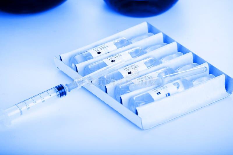 Vacinas imagens de stock