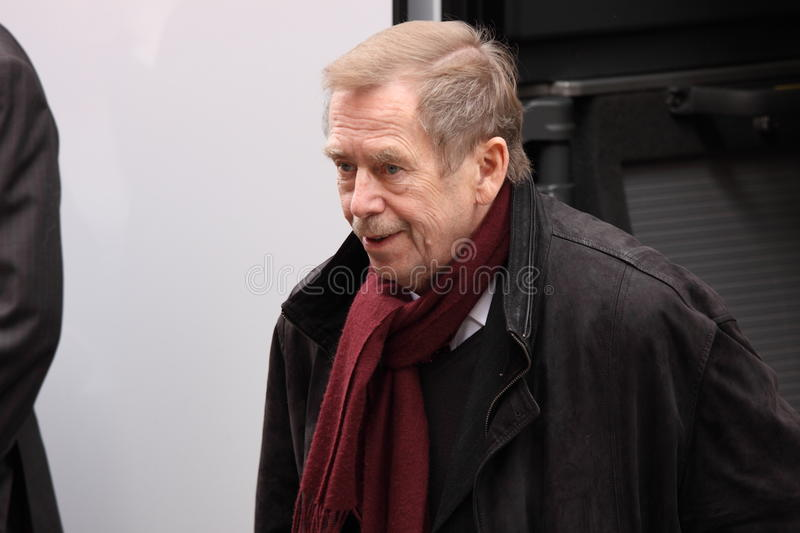 Vaclav Havel stock afbeeldingen