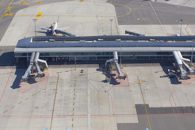 Vaclav Havel Prague Airport Editorial Photo