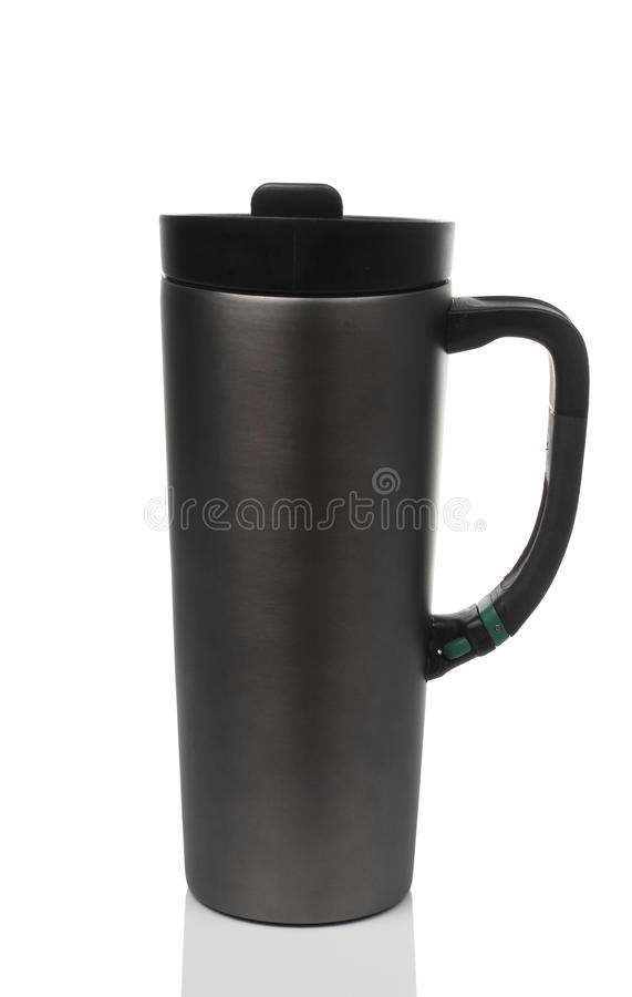 Download Vacuum Bottle For Drink On White Background Stock Image - Image: 35299235