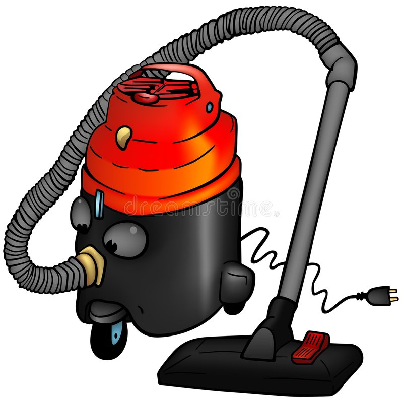 Download Vacuum cleaner stock vector. Illustration of clipart, paint - 8192590