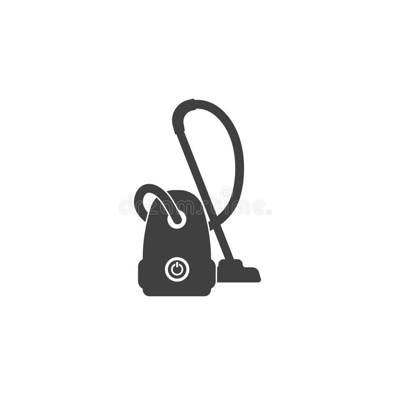 Vacuum cleaner icon stock illustration