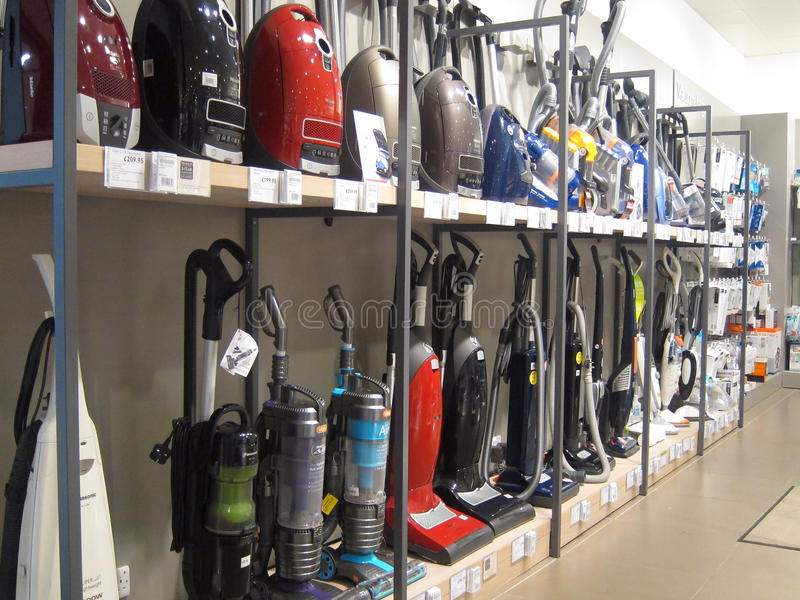 Download Vacuum Cleaners Or Hoovers For Sale In A Store Editorial Image