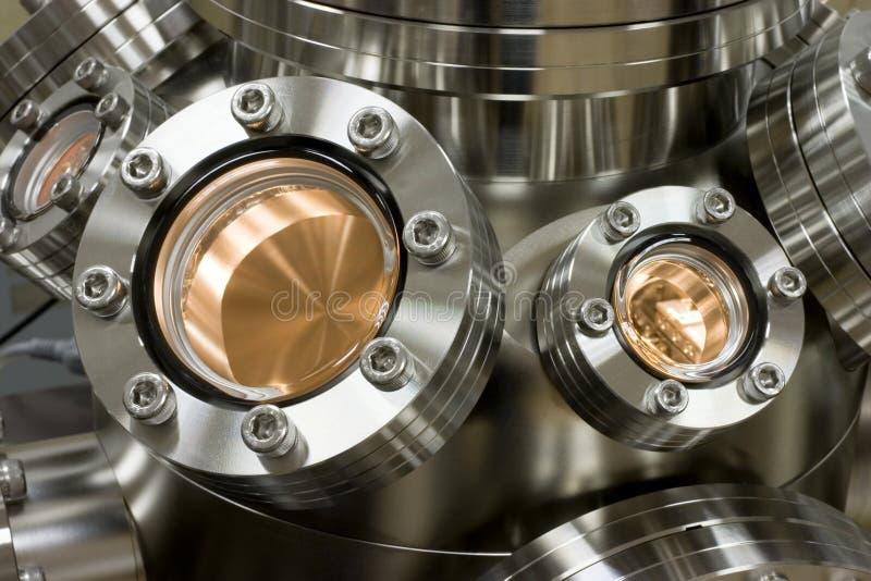 Vacuum equipment stock image