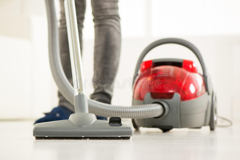 Vacuuming stock images