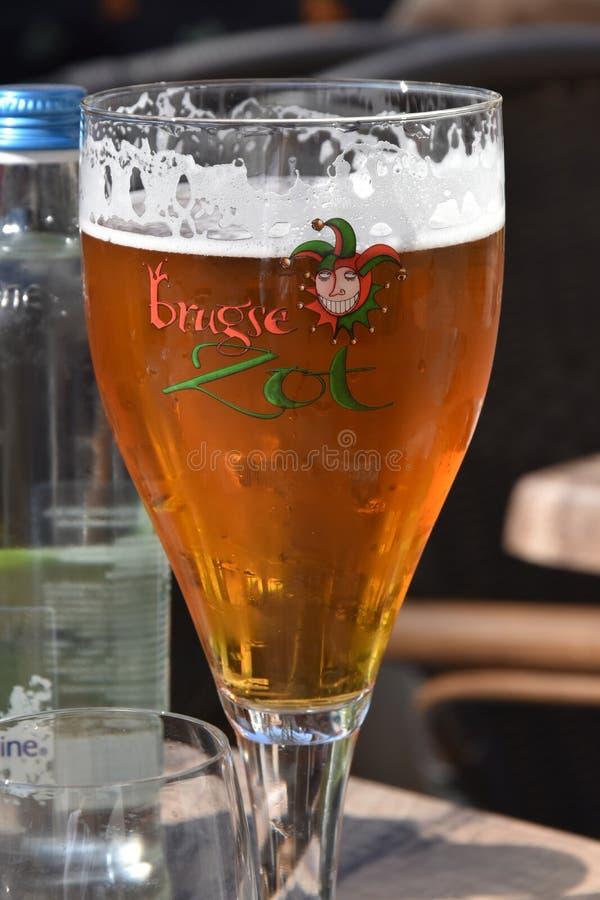 Vad dricker du i Belgien? royaltyfri foto