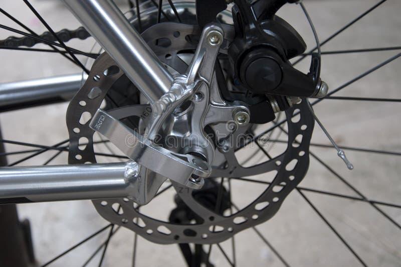 Vada in bicicletta il freno fotografie stock libere da diritti
