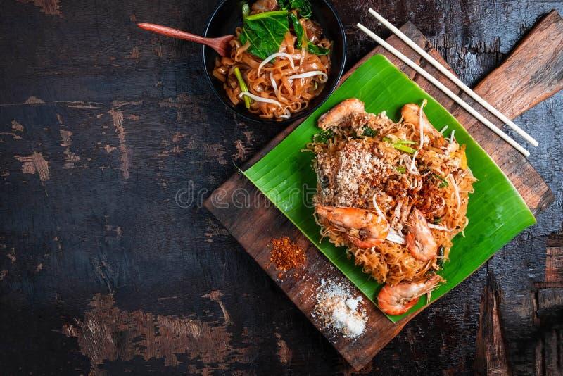 Vaddera thailändsk läcker thailändsk mat på tabellen fotografering för bildbyråer