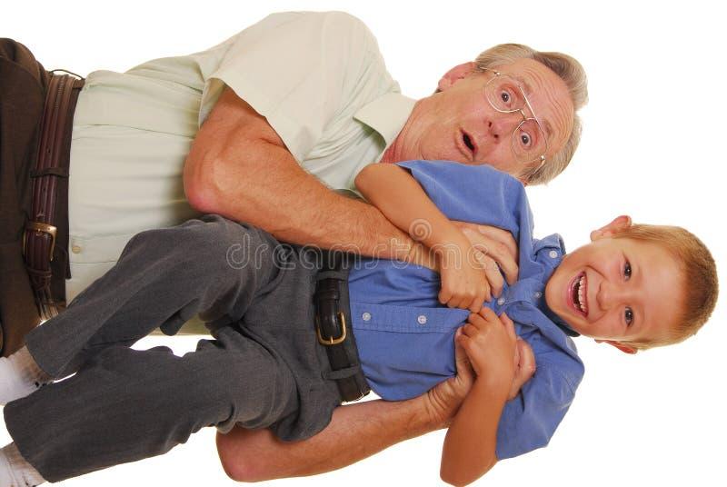 Vader & Zoon Vijf stock foto