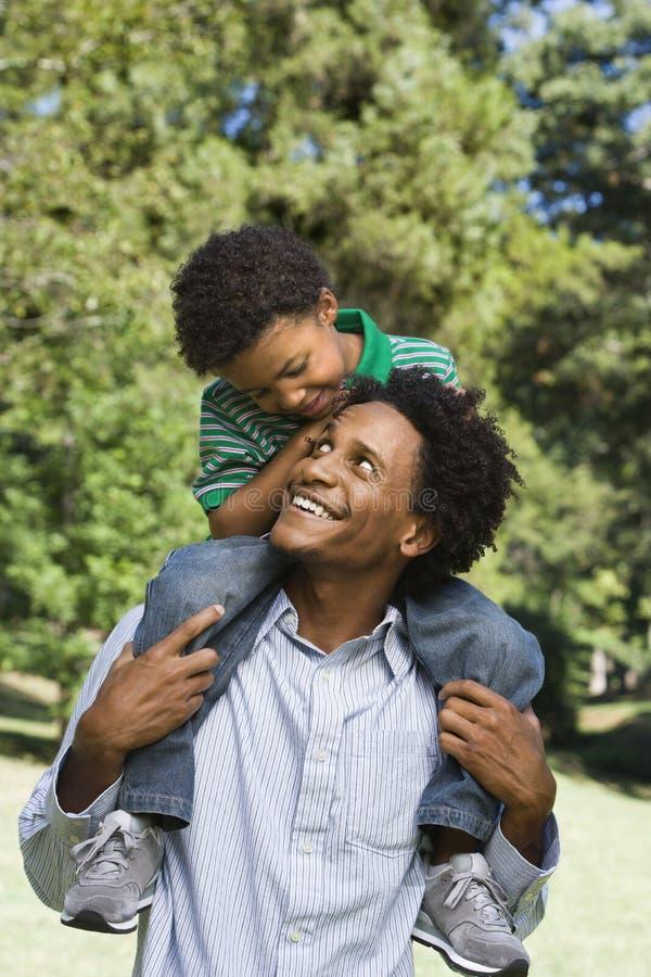 Vader en zoon.