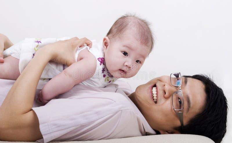 Vaderschap stock foto