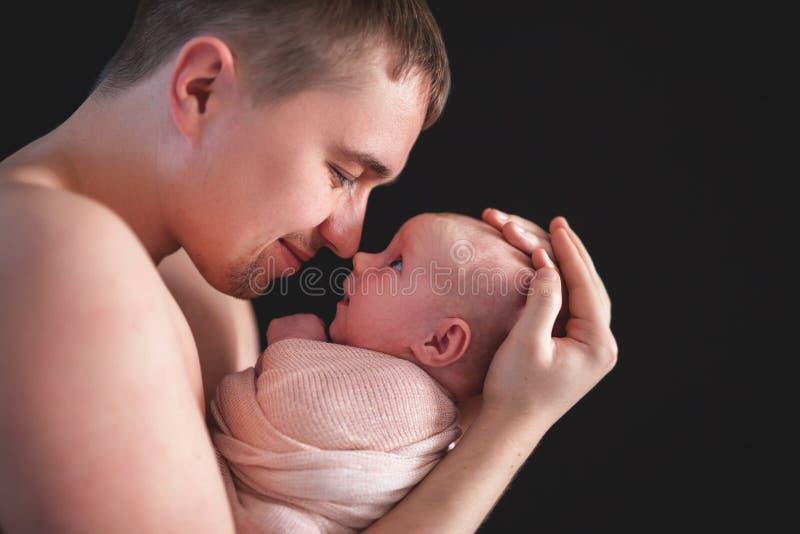 Vadersdag, viering die vaders eren en vaderschap vieren stock fotografie