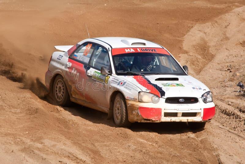 Download Vadim Michaylov Drives A Subaru Impreza Editorial Photo - Image: 18669216