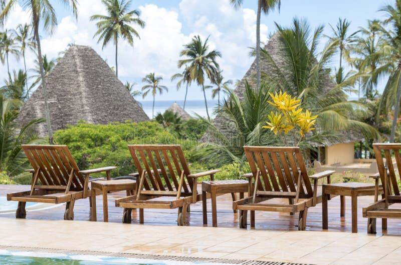 Vadio de Sun em Zanzibar fotografia de stock royalty free