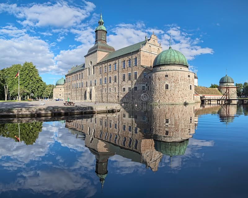 Vadstenakasteel, Zweden stock foto