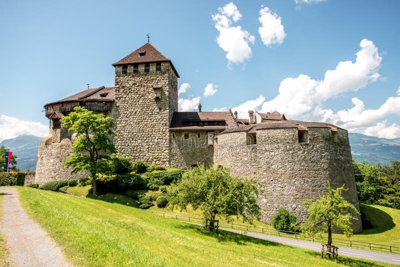 Vaduz castle in Liechtenstein stock images