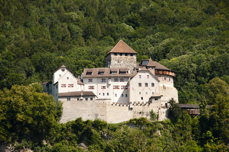 Vaduz Castle - Liechtenstein stock photo