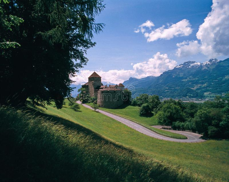 Vaduz castle Liechtenstein stock photography