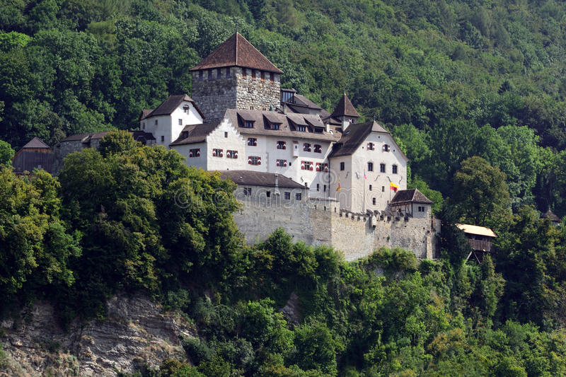 Vaduz Castle, Liechtenstein royalty free stock image