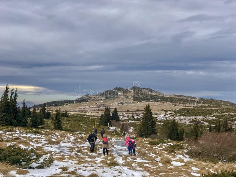 Vagabonds de montagne photo libre de droits