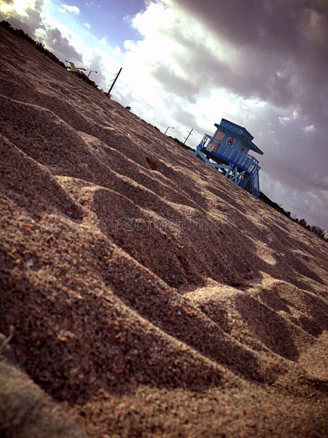Vagabundo POV da praia imagens de stock royalty free