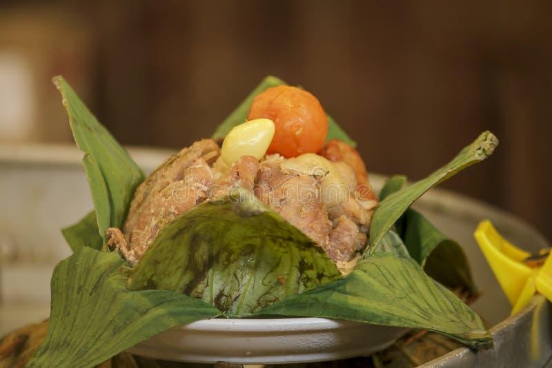 Vagabundos-jang, o nome de um tipo do alimento chinês foto de stock