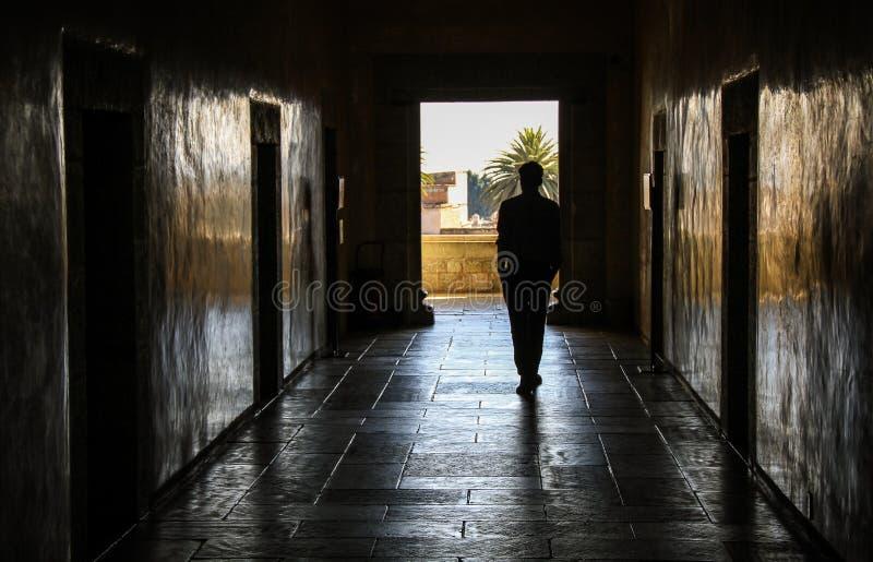 Vagando, Museo de las Culturas de Oaxaca, Oaxaca, México imagen de archivo libre de regalías