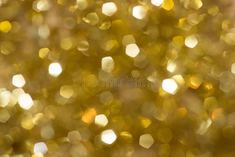 Vage Gouden Fonkeling royalty-vrije stock afbeeldingen