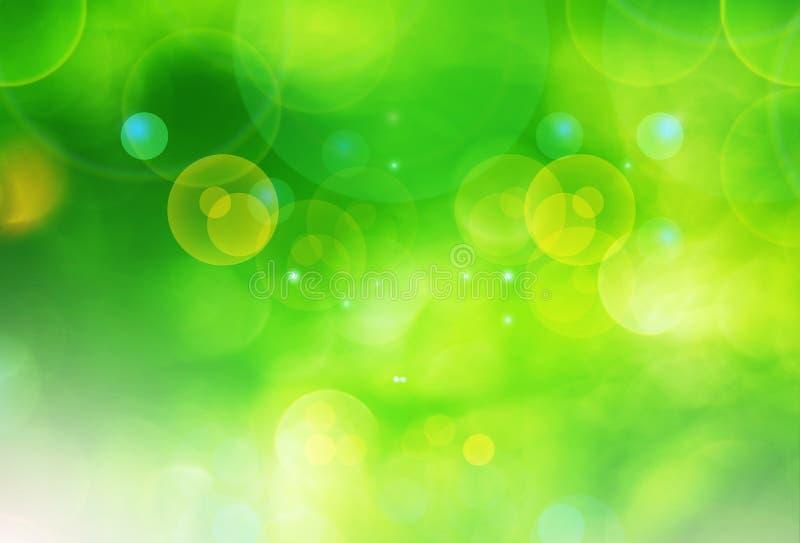 Vage groene abstracte achtergrond royalty-vrije stock afbeeldingen
