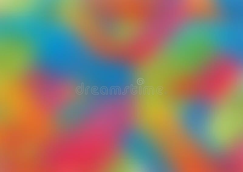 Vage kleurrijke achtergrond stock afbeelding